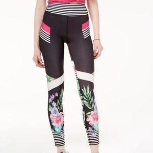 Material Girl Active Printed Cropped Yoga Leggings